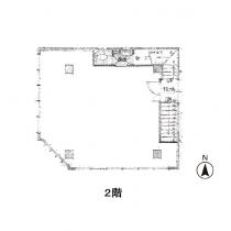 2階の間取図