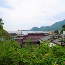 漁村の路地裏