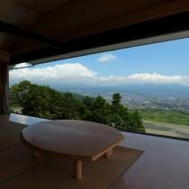 富士山もバッチリ見えます