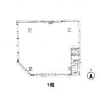 1階の間取図