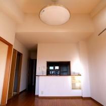個性的な勾配天井