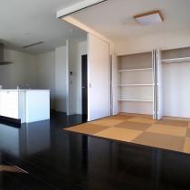 琉球畳の和室も